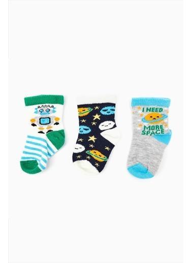 B&G Store 3'lü Çorap